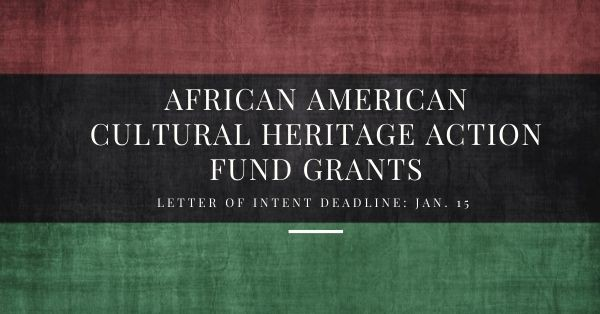 African American Cultural Heritage Action Fund
