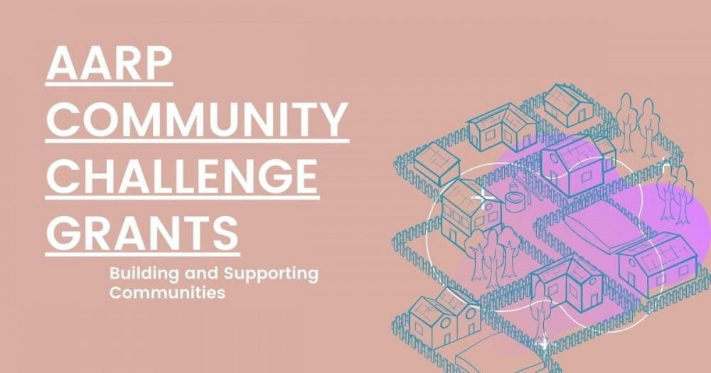 AARP Community Challenge Grants Graphic