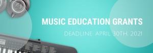 Music Education Grants graphic