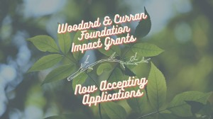 Woodard & Curran Foundation Now Accepting Applications Graphic