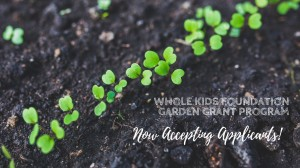 Whole Kids Foundation Garden Grant Program Now Accepting Applicants