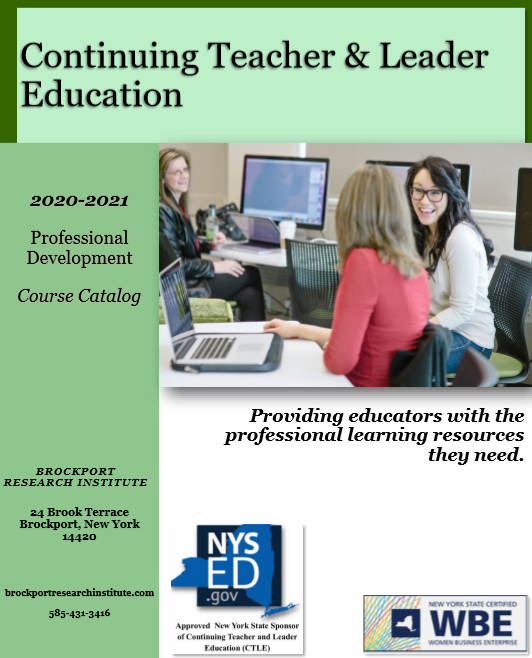 2019-2020 Professional Development Course Catalog