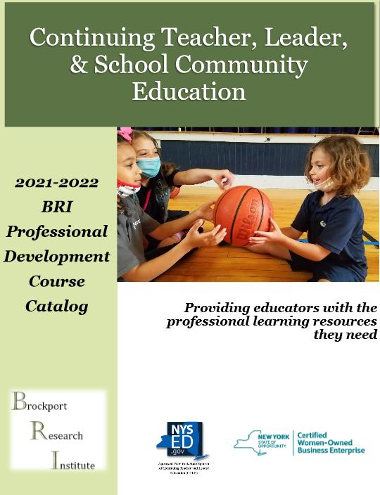 2019-2020 Professional Development Course Catalog